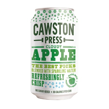 Cawston Sparkling Cloudy Apple Can 330ml