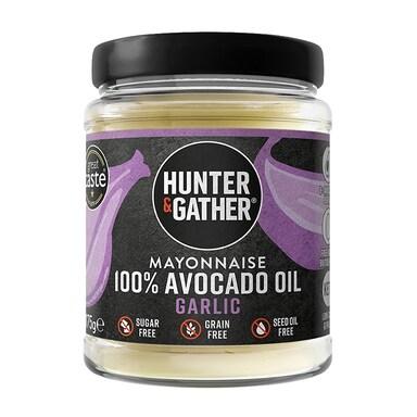 Hunter & Gather Garlic Avocado Oil Mayo 175g