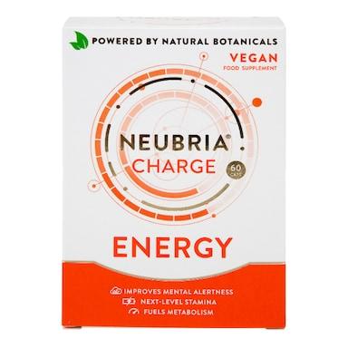 Neubria Charge Energy Vegan 60 Capsules