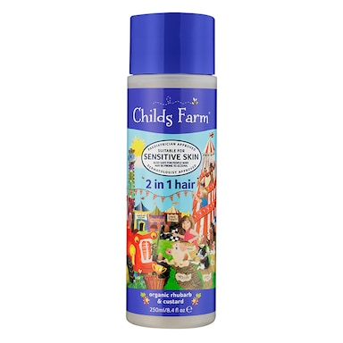 Childs Farm 2in1 Shampoo & Conditioner -  Rhubarb & Custard 250ml
