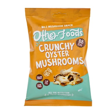 Other Foods Crunchy Oyster Mushrooms 40g