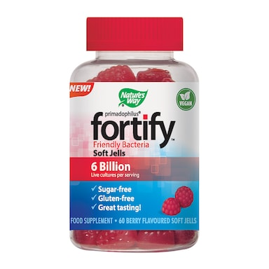 Nature's Way Fortify Pro-Biotic Berry Flavoured 60 Gummies