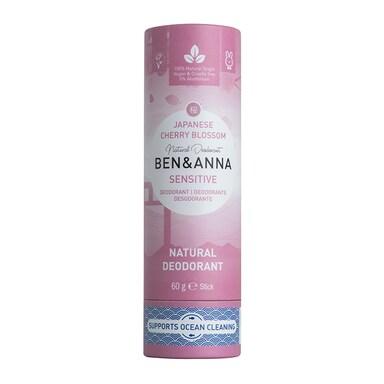 Ben & Anna - Sensitive Japanese Blossom Deodorant 60g
