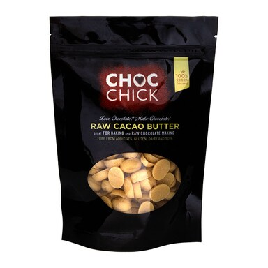 Choc Chick Organic Raw Cacao Butter 250g