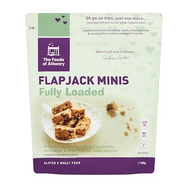 Foods Of Athenry Flapjack Minis - Fully Loaded 150g