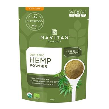 Navitas Hemp Protein Powder 340g