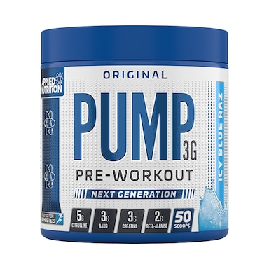 Applied Nutrition Pump Pre Work Out Icy Blue Raz 375g