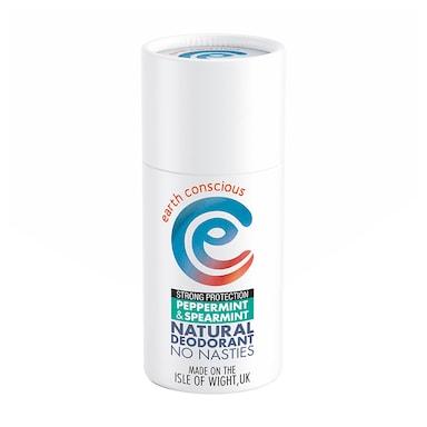 Earth Conscious Natural Deodorant Stick - Peppermint & Spearmint 60g