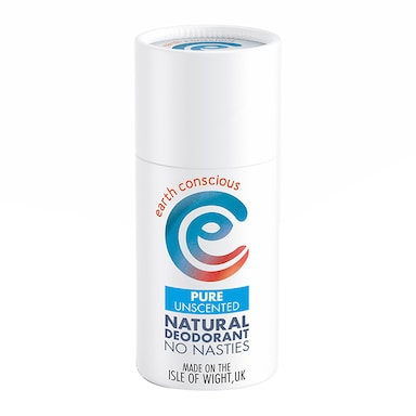 Earth Conscious Natural Deodorant Stick - Pure Unscented 60g