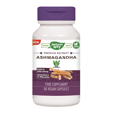 Nature's Way Ashwagandha 60 Capsules