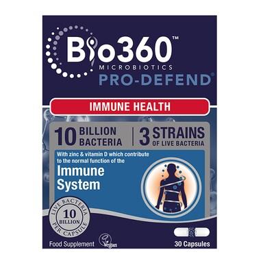 Natures Aid Pro-Defend 10 Billion Bacteria 30 Capsules