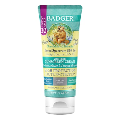 Badger Baby SPF30 Sunscreen 87ml