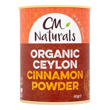CM Naturals Organic Ceylon Cinnamon Powder 60g