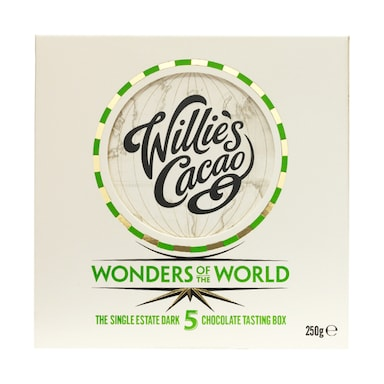 Willie's Cacao 5 Wonders Of The World Tasting Box (50g x 5)