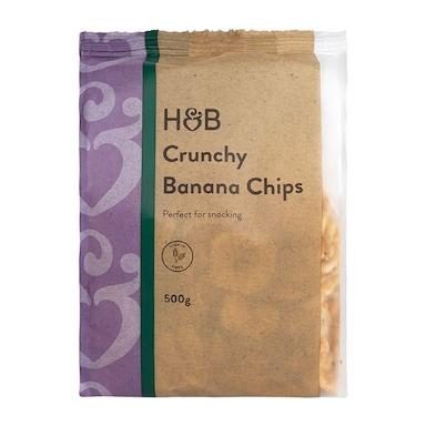 Holland & Barrett Crunchy Banana Chips 500g