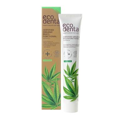 Ecodenta Certified Organic Multifunctional Toothpaste with Hemp Oil 75ml