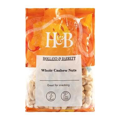 Holland & Barrett Whole Cashew Nuts 450g