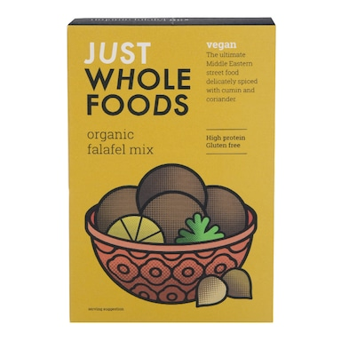 Just Wholefoods Organic Vegan Falafel Mix 120g