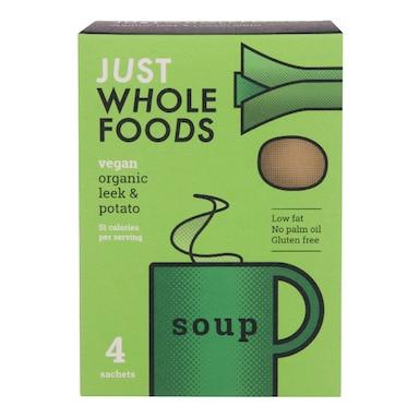 Just Wholefoods Soup In A Mug - Leek & Potato 17g