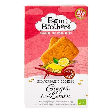 Farm Brothers Ginger & Lemon Cookies 150g