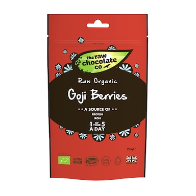 The Raw Chocolate Company Goji Berries - Uncoated 150g