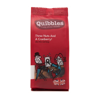 Quibbles Three Nuts & A Cranberry! 100g