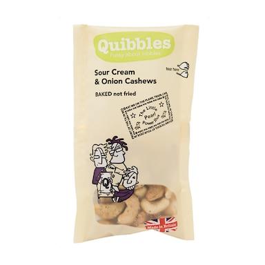 Quibbles Sour Cream & Onion Cashews 30g