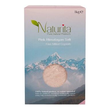 Naturita Pink Himalayan Salt - Fine Milled Crystals 1kg