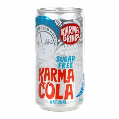 Karma All Natural Sugar Free Karma Cola 250ml