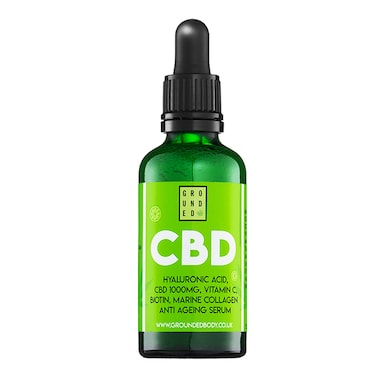 Grounded CBD and Hyaluronic Acid Facial Serum 50ml