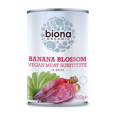 Biona Banana Blossom in Salted Water 400g