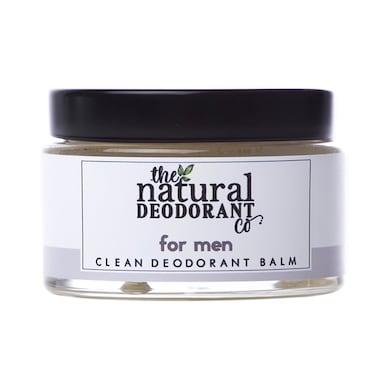The Natural Deodorant Co Clean Deodorant Balm For Men 55g