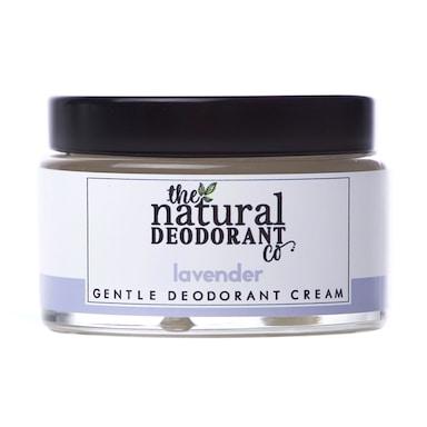 The Natural Deodorant Co Gentle Deodorant Cream Lavender 55g