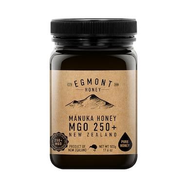 Egmont Honey Manuka Honey 250+ MGO 500g