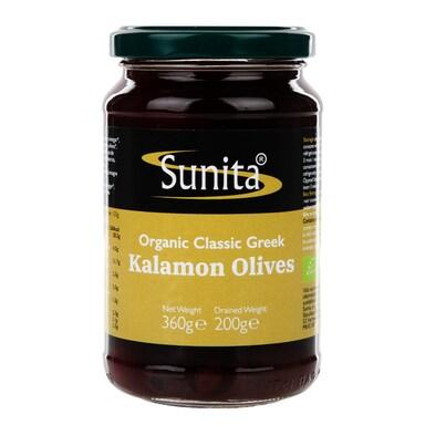 Sunita Kalamon Olives - Organic 360g