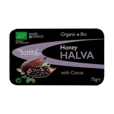 Sunita Halva With Dark Chocolate - Organic 75g
