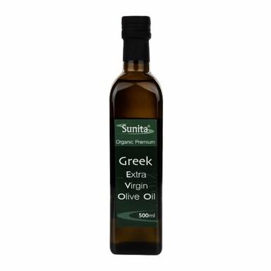 Sunita Greek Organic Extra Virgin Olive Oil 500ml