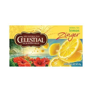 Celestial Lemon Zinger Tea 20 Bags