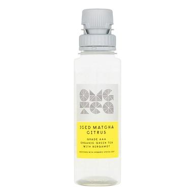 OMGTea Iced Matcha Citrus Tea - AAA Grade Organic 250ml