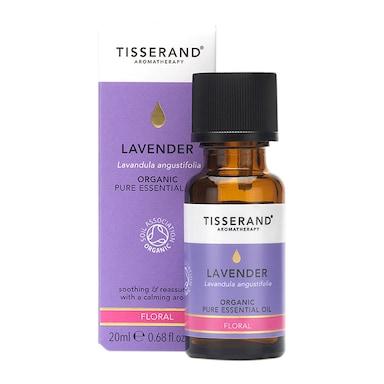 Tisserand Lavender Organic Essential Oil 20ml