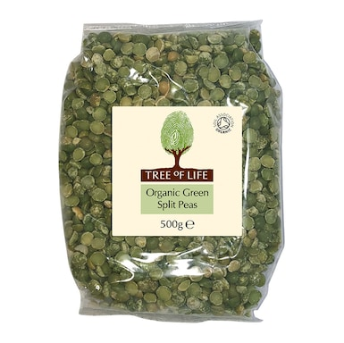 Tree Of Life Organic Green Split Peas 500g