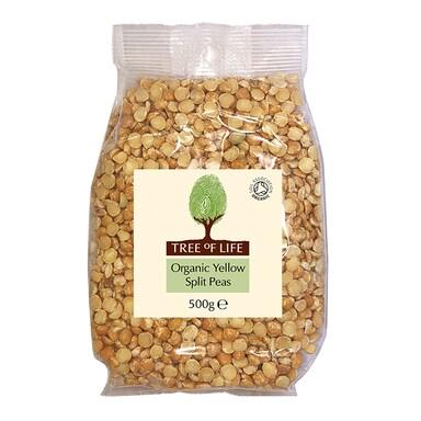 Tree Of Life Organic Yellow Split Peas 500g