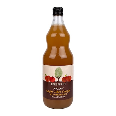 Tree Of Life Organic Apple Cider Vinegar With The Mother 1Ltr