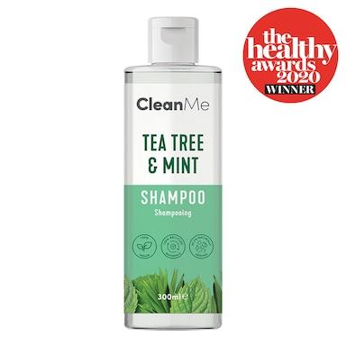 Clean Me Tea Tree & Mint Shampoo 300 ml