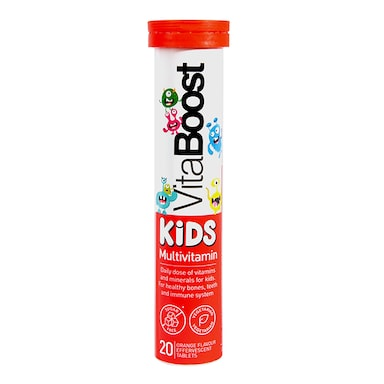Vitaboost Kids Multivitamin Effervescent 20 Tablets