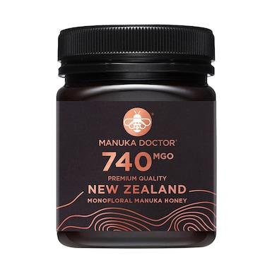 Manuka Doctor Monofloral Manuka Honey MGO 740 250g