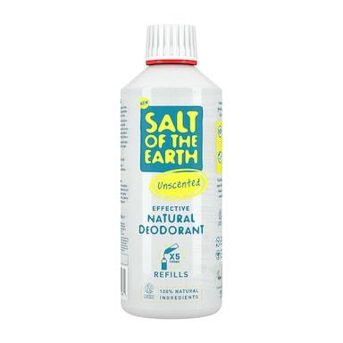 Salt of the Earth - Unscented Deodorant Spray Refill 500ml