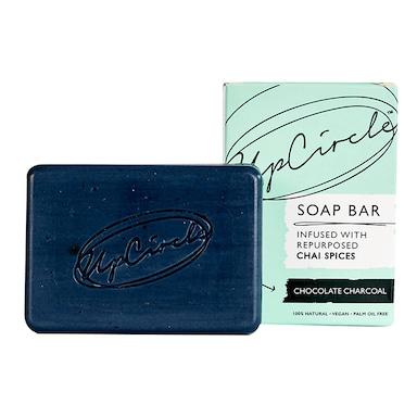 UpCircle Chocolate Charcoal Chai Soap Bar 100g
