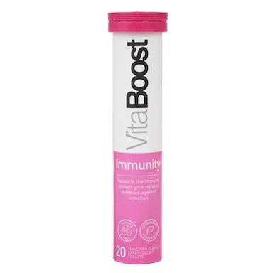 Vitaboost Immunity Effervescent 20 Tablets