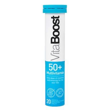 Vitaboost Multivitamin 50+ Effervescent 20 Tablets